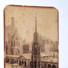 Fotografía antigua: ANTIGUA FOTOGRAFÍA CARTA DE VISITA: NÜRNBERG. Lote 95876903