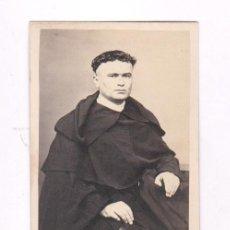Fotografía antigua: CDV DE RELIGIOSO, FOTO C. BONIFAS, MANILA, FILIPINAS, 1860'S. ARCHIVO DE CELESTINO MAS ABAT. Lote 98203235
