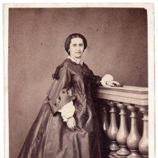 Fotografía antigua: FOTOGRAFÍA CARTES DE VISITE S.XIX, ESTUDIO FOTOGRÁFICO ROVINA Y DURÁN BARCELONA. Lote 99181287