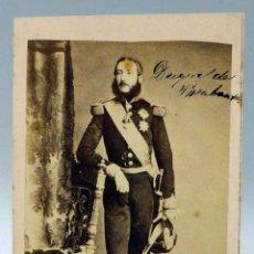 Fotografía antigua: CARTE VISITE FOTOGRAFÍA DUQUE DE BRABANTE LEOPOLDO SIN NOMBRE ESTUDIO HACIA 1870 S XIX. Lote 101462767