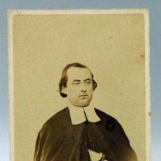 Fotografía antigua: CARTE VISITE FOTOGRAFÍA ABOGADO CON TOGA SIN NOMBRE ESTUDIO HACIA 1870 S XIX. Lote 101462839