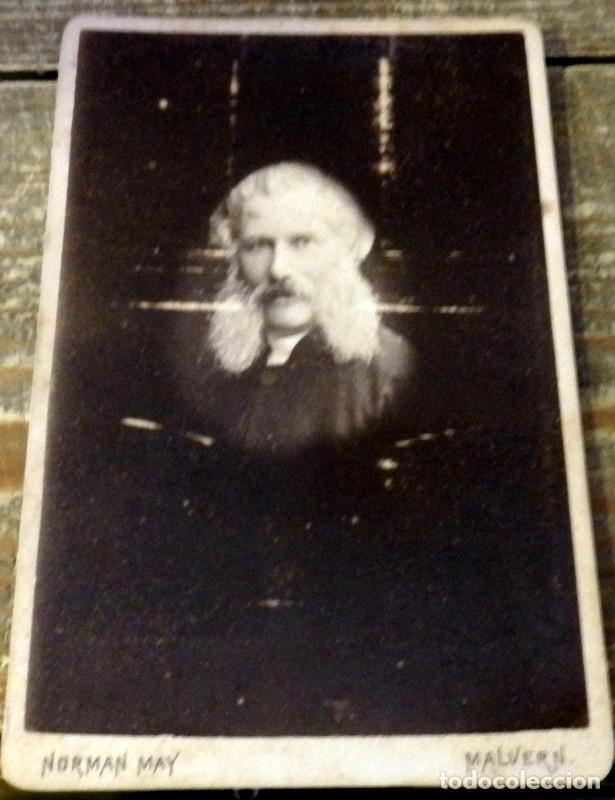 RARA CDV, SIGLO XIX, DEL FOTOGRAFO INGLES NORMAN WAY, FOTOGRAFO REAL,115X175MM (Fotografía Antigua - Cartes de Visite)