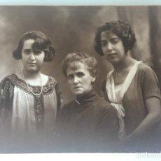 Fotografía antigua - MADRE E HIJAS. STUDIO LUMIERE BARCELONA C.1920 - 107191699