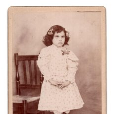 Fotografía antigua: CARTES DE VISITE. ESTUDIO FOTOGRÁFICO. ARTURO FRANCO. MURCIA. Lote 110255231