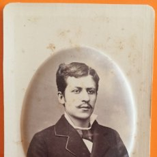 Fotografía antigua: FOTOGRAFIA- JUAN SOLER Y FABREGAS- POBLA DE CLARAMUNT ( BARCELONA) 1.878-1.879 A. TORIJA. Lote 110645571