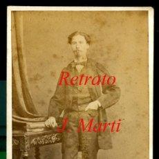 Fotografía antigua: RETRATO - FOTOGRAFIA JUAN MARTI - 1880'S . Lote 113662747