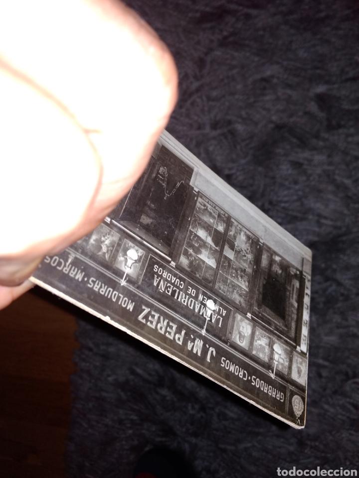 rara fotografia de doble cara con publicidas de - Comprar Cartes de ...