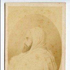 Fotografía antigua: ABDEL KADER O ABD EL-QADER, FUNDADOR DE LA NACIÓN ARGELINA, ARGELIA, PHOT. FRANCK, PARIS . Lote 115273791