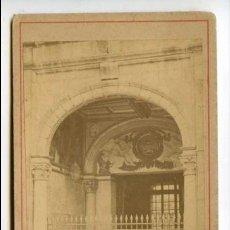 Fotografía antigua: FONTAINEBLEAU, SIN REFERENCIA DE FOTÓGRAFO, FRANCIA, CIRCA 1870, CARTE DE VISITE. Lote 115274595
