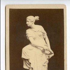 Fotografía antigua: ESTATUA DE LA VICTORIA A IDENTIFICAR. RAUCH. 439. Lote 115275063