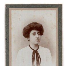 Fotografía antigua: CARTES DE VISITE. ESTUDIO FOTOGRÁFICO. ROLDAN HIJO. PAMPLONA - MAYO 1904. Lote 115574015