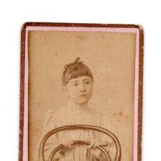 Fotografía antigua: CARTES DE VISITE. ESTUDIO FOTOGRÁFICO. ROLDAN Y MENA - PAMPLONA. Lote 115574191