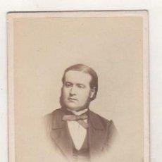 Fotografía antigua: PERSONAJE RELACIONADO CON LA FAMILIA LLY-BAILLIÈRE E. FALMANT PARIS FOTÓGRAFO. Lote 115578147