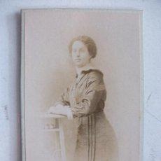 Fotografía antigua - CDV DE SEÑORITA FRANCESA DEL SIGLO XIX. DE CHAMBERLIN , PARIS - 115754179