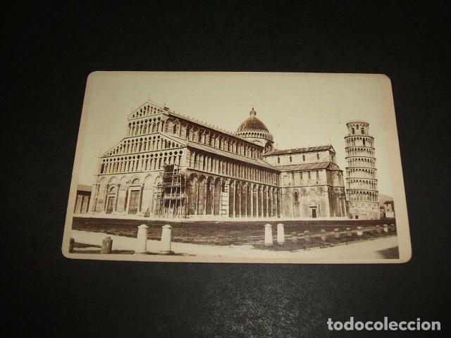 PISA ITALIA CARTE DE VISITE DUOMO HACIA 1860 1870 GIACOMO BROGI FOTOGRAFO FLORENCIA Fotografia