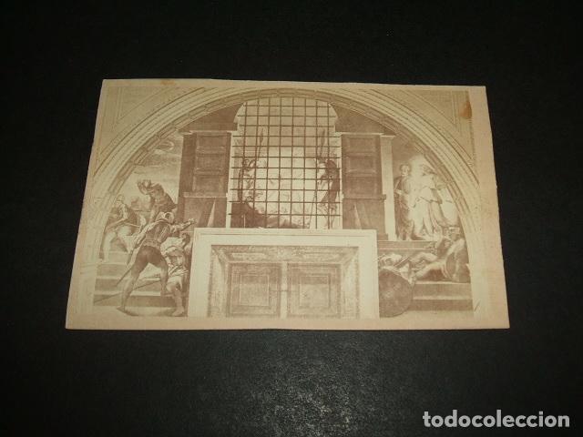 ROMA VATICANO ITALIA CARTE DE VISITE ESTANCIAS VATICANAS FRESCOS RAFAEL HACIA 1860 1870