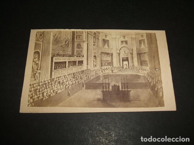 ROMA VATICANO ITALIA CARTE DE VISITE ACTO HACIA 1860 1870 Fotografia Antigua