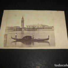 Fotografía antigua: VENECIA ITALIA CARTE DE VISITE VISTA DE LA CIUDAD HACIA 1860-1870. Lote 116150971