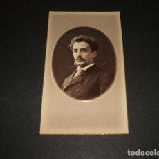Fotografía antigua: BARCELONA CARTE DE VISITE HACIA 1870 RETRATO DE CABALLERO FOTOGRAFIA FRANCO HISPANO AMERICANA. Lote 116163179