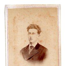 Fotografía antigua: FOTOGRAFÍA CARTES DE VISITE S.XIX, ESTUDIO FOTOGRÁFICO JOSÉ MAS VICH. Lote 116718191