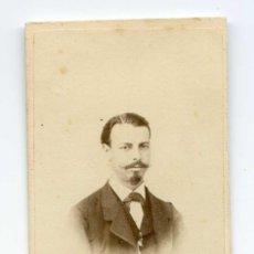Fotografía antigua: FOTOGRAFÍA DE CABALLERO. E. GODÍNEZ, FOTÓGRAFO DE SS.AA.RR. CADENAS 4 Y 5, SEVILLA. Lote 117512259