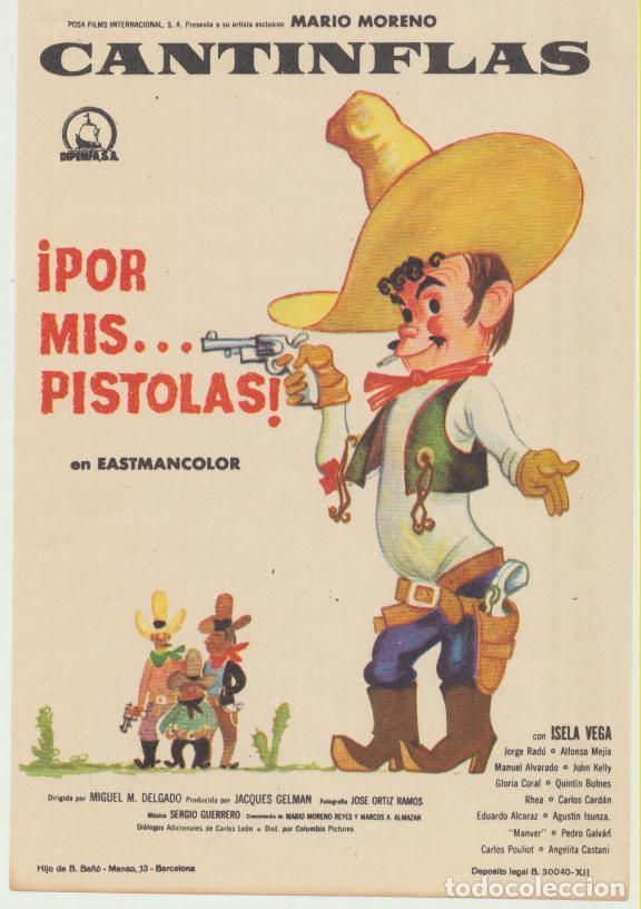 CANTINFLAS POR MISPISTOLAS SENCILLO DE POSA FILMS