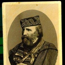 Fotografía antigua: GARIBALDI - 1880'S . Lote 118843827