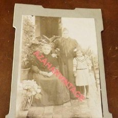 Fotografía antigua: ZONA DE SALAMANCA, SIGLO XIX, PRECIOSA CDV COSTUMBRISTA, FOT.CEFERINO NUÑEZ,105X165MM. Lote 118884403
