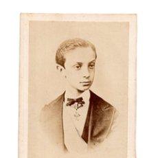Fotografía antigua: REY ALFONSO XII.- CARTES DE VISITE. 1871. Lote 122376155