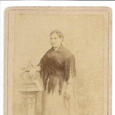 Fotografía antigua: 1885 CA FOTOGRAFÍA ANTIGUA ALBUMINA CDV 95X154MM FOTÓGRAFO JULIO DERREY (VALENCIA). Lote 125470071