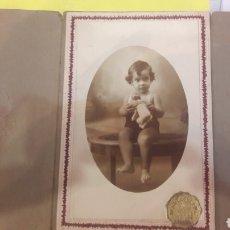 Fotografía antigua: FOTO F.ALLOZA NIÑO ANTIGUA FOTO COLECCIONISMO O ALMACÉN DO COLISEVM TODO EN PAPEL ANTIGUO. Lote 127481434