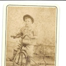 Fotografía antigua: 1870 CA FOTOGRAFÍA ANTIGUA ALBUMINA CDV 60X105MM FOTÓGRAFO MANUEL MARTÍNEZ VALENCIA. Lote 128391295