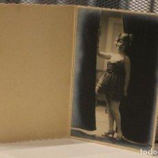 Fotografía antigua: *CHICA JOVEN POSANDO* 1921. ALFONSO. FUENCARRAL. MADRID. 14,5 X 9,5. INFO Y 4 FOTOS.. Lote 128482487