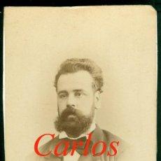 Fotografía antigua: CARLOS MARISTANY - 1870'S - FOTOGRAFIA JUAN MARTÍ . Lote 129494615