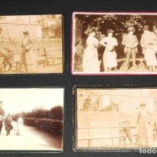 Fotografía antigua: LOTE DE 4 FOTOGRAFÍAS ANTIGUAS . Lote 130537390