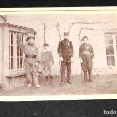 Fotografía antigua: FOTOGRAFÍA ANTIGUA - MILITAR. Lote 130537938