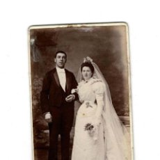 Fotografía antigua: CARTES DE VISITE. ESTUDIO FOTOGRÁFICO. J. YRONDY, DE PARÍS.. Lote 131718610