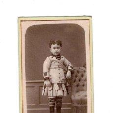 Fotografía antigua: CARTES DE VISITE.- LA CORUÑA ESTUDIO FOTOGRÁFICO DE AVRILLÓN . Lote 131870038