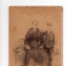 Fotografía antigua: FIGUERAS (GIRONA) ESTUDIO FOTOGRÁFICO DE DOMINGO BOSCH.. Lote 132023118