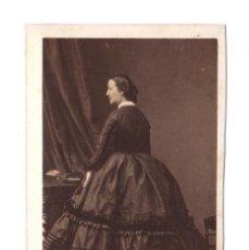 Fotografía antigua: LA DUQUESA DE ALBA, FOTO: DISDERI, PARÍS. CDV. Lote 132652482