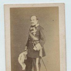 Fotografía antigua: EL CAPITÁN GENERAL DE LA CONCHA, MARQUÉS DEL DUERO. . Lote 135767279