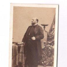 Fotografía antigua: PERSONAJE HISTÓRICO NOBRE REVERSO, FOTO DISDERI, PARÍS.. Lote 132708082
