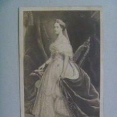 Fotografía antigua: CDV DE LA EMPERATRIZ DE FRANCIA EUGENIA DE MONTIJO, SIGLO XIX . DE MAYER & PIERSON, PARIS. Lote 133160090