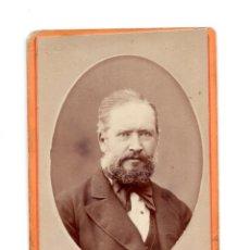 Fotografía antigua: FOTOGRAFÍA CARTES DE VISITE S.XIX, ESTUDIO FOTOGRÁFICO E.OTERO - MADRID. Lote 136285290