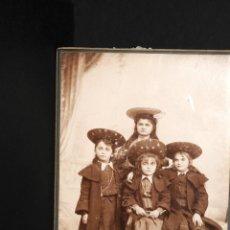 Fotografía antigua: FOTOGRAFIA DE CHICAS - FOTOGRAFO SOUDRES DE ROMANS- 2. Lote 137872962
