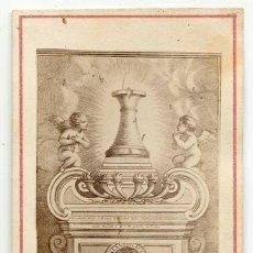 Fotografía antigua: COLUMNA DE LA FLAGELACIÓN DE JESÚS EN LA BASÍLICA DE SANTA PRÁXEDES EN ROMA. Lote 138559146