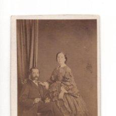 Fotografía antigua: CARTES DE VISITE. ESTUDIO FOTOGRÁFICO. J. LAURENT. MADRID. Lote 140444106