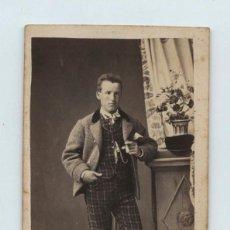 Fotografía antigua - Personaje por identificar, foto: Repeat &jacquemin photographes, Reus. cdv - 140660602