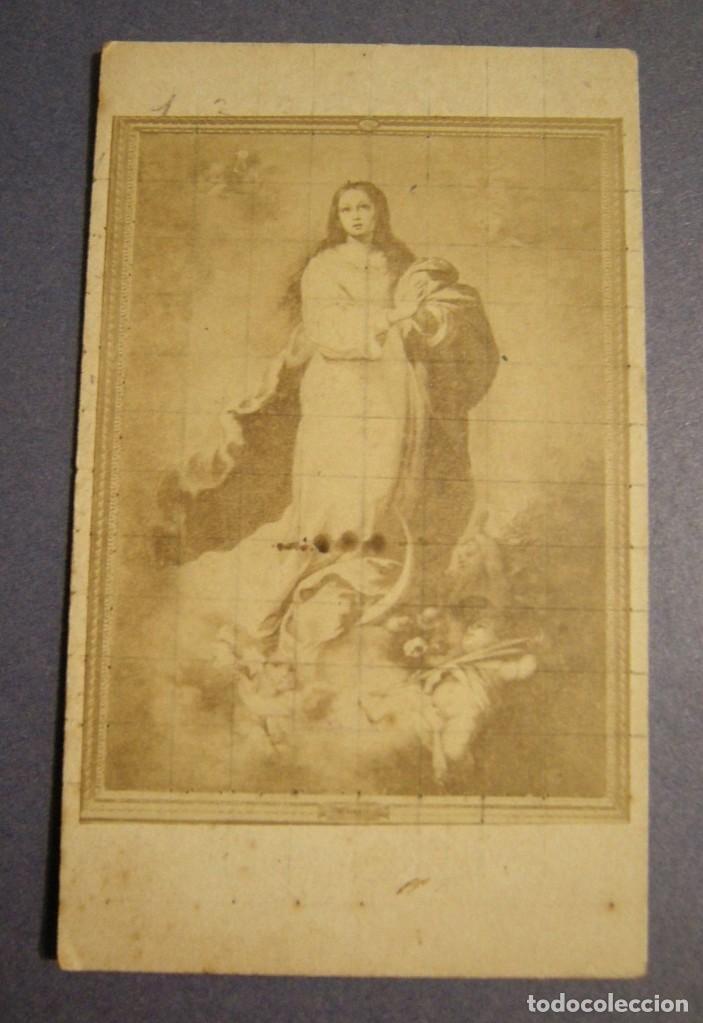 CARTA DE VISITA J. LAURENT MADRID-PARIS ESTADO EL DE LAS FOTOS (Fotografía Antigua - Cartes de Visite)