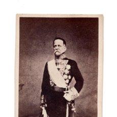 Fotografía antigua: CARTES DE VISITE. GENERAL ESPAÑOL CONDECORADO. Lote 140901426